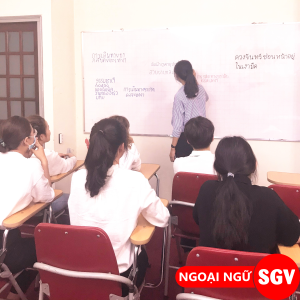 Sài Gòn Vina, Học tiếng Lào, Thái, Khmer ở quận 7