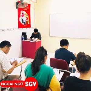 Sài Gòn Vina, Tiếng Nhật văn phòng cho người đi làm tại quận Tân Phú