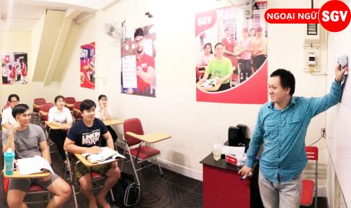 Sài Gòn Vina, Lớp học tiếng Hoa tại quận Tân Phú