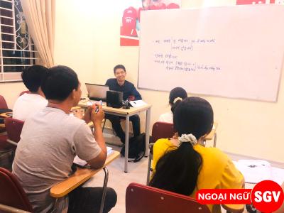Sài Gòn Vina, Lịch khai giảng các khóa học tiếng Hàn Sài Gòn Vina