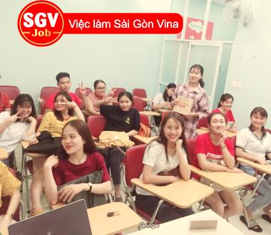Sài Gòn Vina, Cơ sở quận 7 tuyển sinh viên thực tập