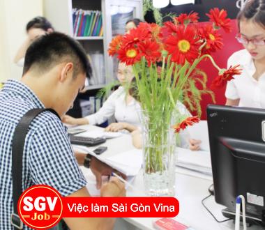 Sài Gòn Vina, Tuyển 5 sinh viên thực tập Quận 4