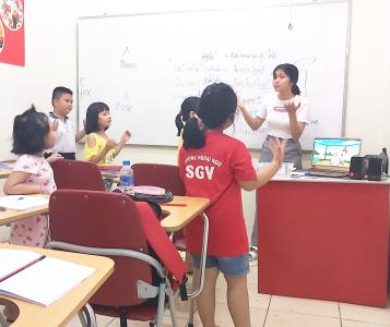 Sài Gòn Vina, Trung tâm dạy tiếng Anh cho bé ở Biên Hòa, Đồng Nai