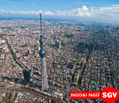 Thành phố đông dân nhất của Nhật Bản, ngoại ngữ Sai Gòn Vina.
