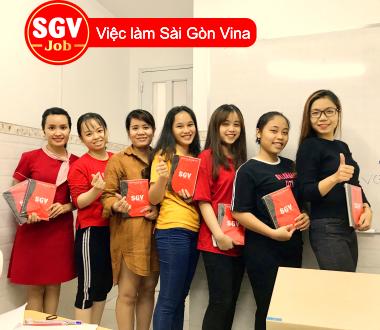Sài Gòn Vina, Tuyển nhân viên parttime ca tối tại Đồng Nai