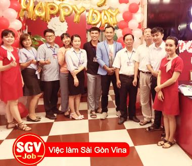 Sài Gòn Vina, Tuyển giáo viên Tiếng Anh tại Dĩ An Bình Dương
