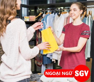 Sài Gòn Vina, Tiếng Trung mua bán quần áo