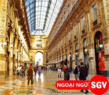 Sài Gòn Vina, địa điểm mua sắm ở Ý