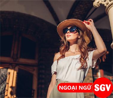 Sài Gòn Vina, Từ vựng tiếng Anh về phong cách thời trang