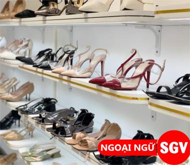 Sài Gòn Vina, Từ vựng tiếng Hàn về các loại giày dép