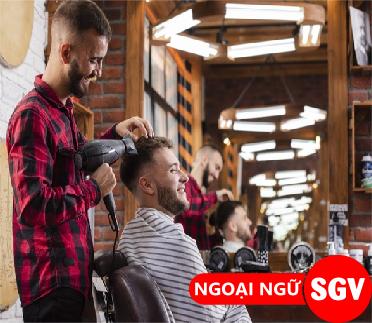 Sài Gòn Vina, Từ vựng tiếng Hàn về chủ đề Salon