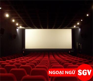 SaiGonVina, Mẫu câu giao tiếp tiếng Anh trong rạp chiếu phim