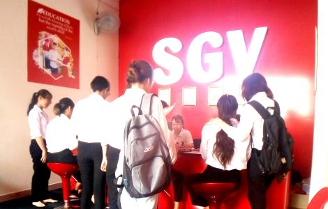 Sài Gòn Vina, Tiếng Anh cho người mới bắt đầu quận 12