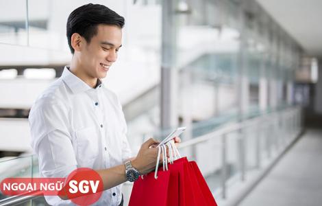 Sài Gòn Vina, Những mẫu câu thường dùng khi mua sắm