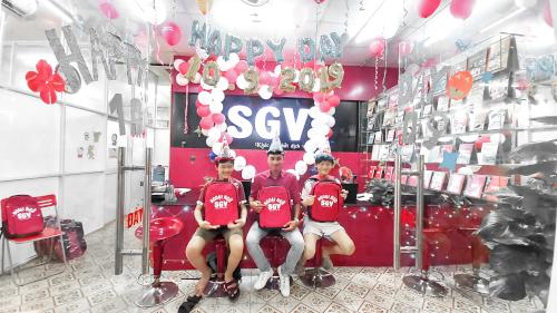 SGV, trung tam tieng anh tre em quan 6