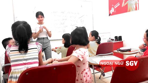 Sài Gòn Vina, lop hoc tieng anh he cho trẻ em