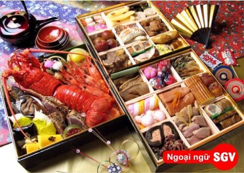 Món ăn ngày tết Nhật Bản, saigonvina