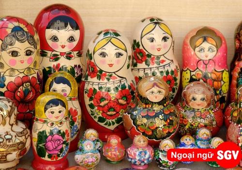 Quà lưu niệm tiếng Nga là gì, saigonvina