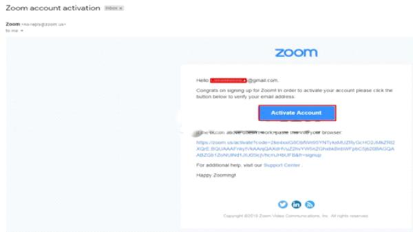 Vào email đăng ký để kích hoạt tài khoản