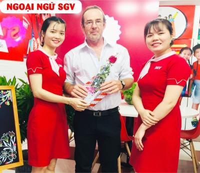 Trung tâm ngoại ngữ Sài Gòn Vina giáo viên trên 2 năm kinh nghiệm, saigonvina