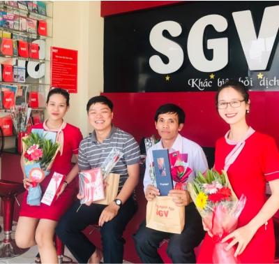 mức lương giáo viên tại trung tâm ngoại ngữ Sài Gòn Vina, sgv